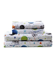 MHF Home Kids Far Out Galaxy Full Sheet Set