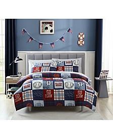 MHF Home Kids Sports Fan Comforter Sets