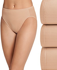 Women's 3-Pk. Smooth Effects French-Cut Pointelle Brief 1740