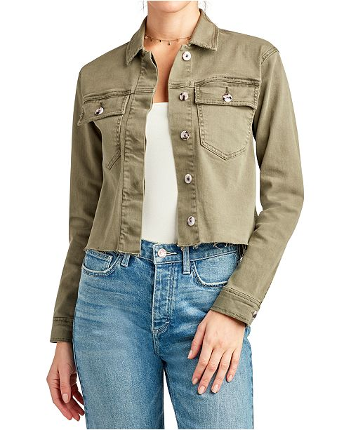 Sam Edelman The Aimee Cropped Utility Jacket