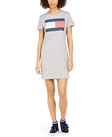 Tommy Hilfiger Cotton Flag Dress