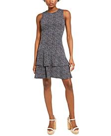 Boutique Blooms Flounce Dress, Regular & Petite Sizes