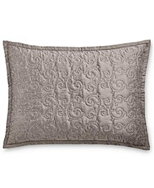 Classic Embossed Jacquard Quilted King Sham