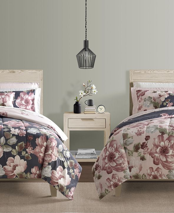 Sunham Lynwood 9-Pc. Twin Comforter Set