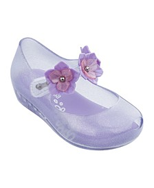 Toddler Girls Ultrirl Flower Flat Shoe