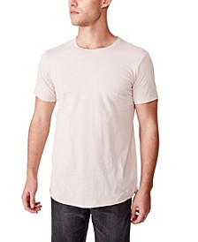 Essential Longline Curved Hem T-Shirt