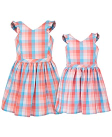Little & Big Girls Gingham Dress Separates
