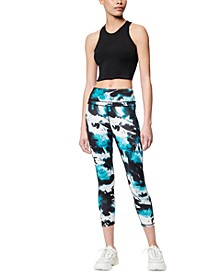 Printed Compression Active Leggings