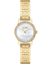 Women's Gold-Tone Stainless Steel Bracelet Watch 22mm