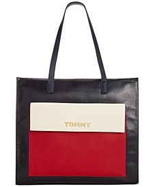 Christine Coated Canvas Tote