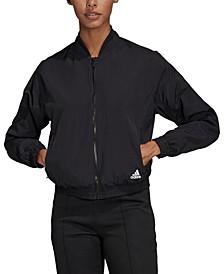 Women's Woven Bomber Jacket