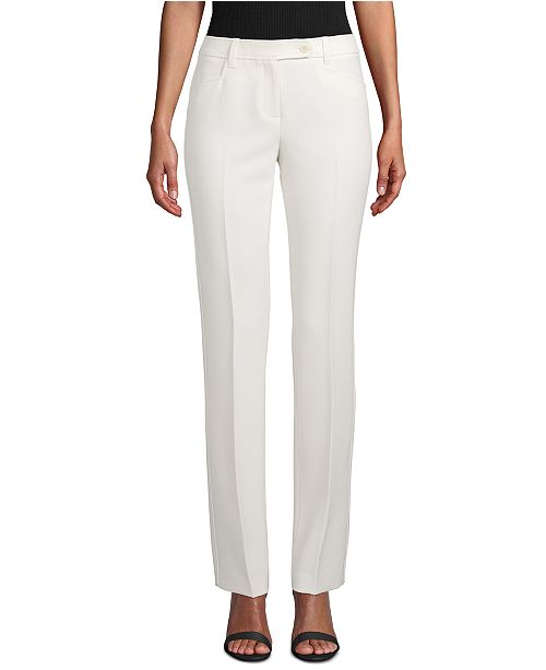 Anne Klein Duke Straight-Leg Dress Pants