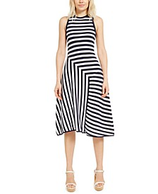 Mixed-Stripe Dress