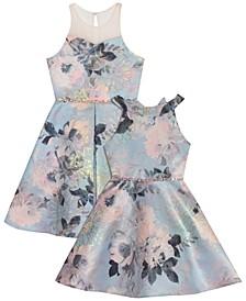 Toddler, Little & Big Girls Jacquard Dress