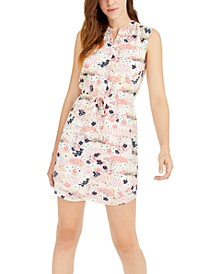 Printed Sleeveless Sheath Dress, Created for Macy's