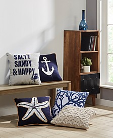 Nautical Decorative Pillow Collection