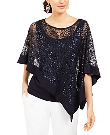 Sequinned-Overlay Top