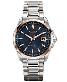Citizen Men's Automatic Grand Classic Eco-Drive Two-Tone Stainless Steel Bracelet Watch 42mm NB0046-51L