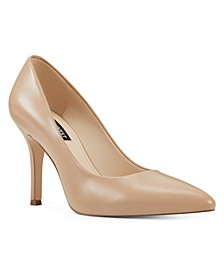 Women's Flax Pointed Toe Pumps