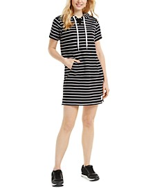 Surfside Striped Hoodie Dress