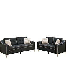 Venetian Worldwide Campania 2-Piece Sofa Set