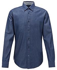BOSS Men's Rod_2 Dark Blue Shirt