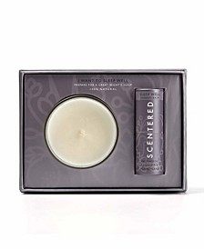 I Want To Sleep Well 2 Pieces Gift Set, 0.17 oz Balm and 3 oz Candle