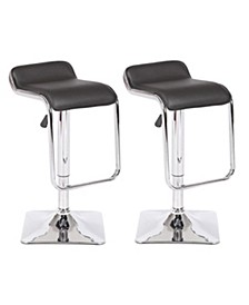 Lorie Adjustable Height Swivel Bar Stool
