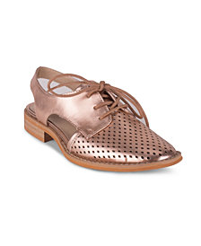 Wanted KOI Women's Perforated Detail Two Piece Oxford