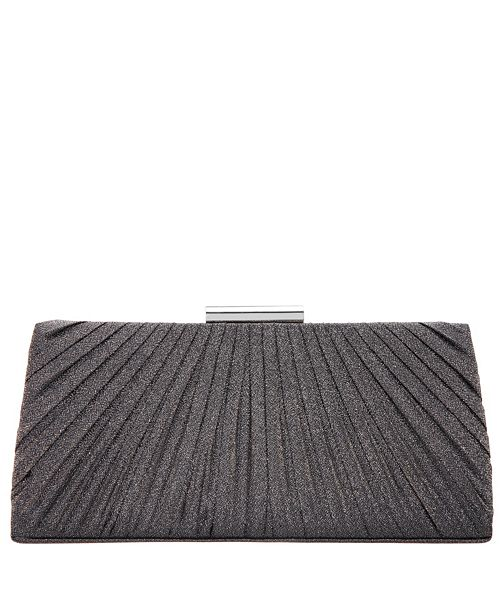 Nina Gatlin Pleated Frame Clutch