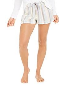 Women's Striped Pajama Shorts