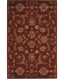 India House IH83 Brick 5' x 8' Area Rug