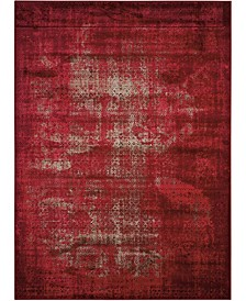"""Fate FAT01 Red 5'3"""" x 7'4"""" Area Rug"""