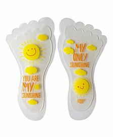 Toddler Boys and Girls My Sunshine Iron-on Grip- Pack of 3