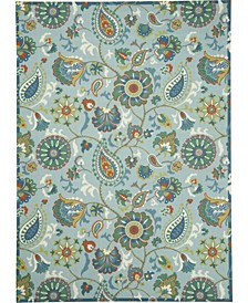 Shady Brights SHA73 Mist 10' x 13' Area Rug