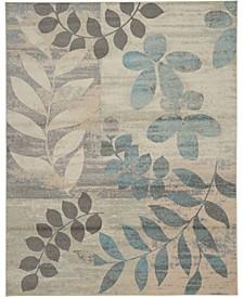 Peace PEA01 Ivory 8' x 10' Area Rug