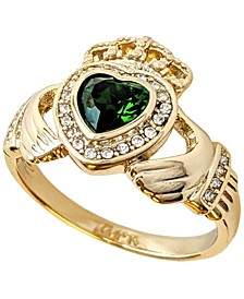 18k Gold Plated Claddagh Ring