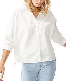 Oversize Drop Shoulder Shirt