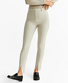 Slit Hem Trousers