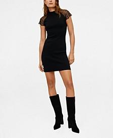 Laced Shoulder Dress
