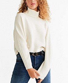 Structured Turtleneck Sweater