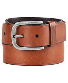 Heat-Pressed Leather Belt