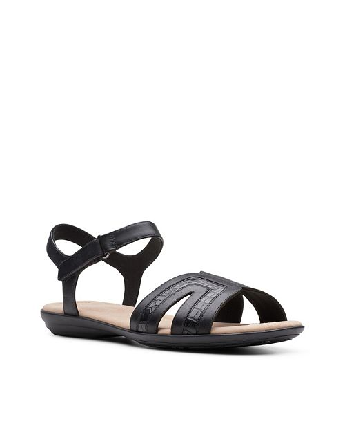 Clarks Collection Women's Ada Mist Flat Sandals