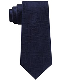 Men's Herringbone Dot Tie
