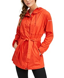 Women's Pardon My Trench Water-Resistant Rain Jacket