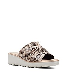 Collection Women's Jillian Leap Wedge Sandals