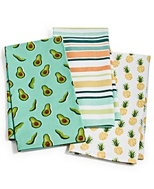 So-Cal Kitchen Towels, Set of 3, Created for Macy's
