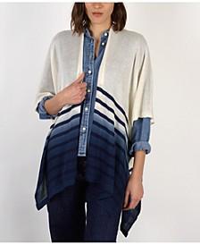 Dip Dye Stripe Kimono
