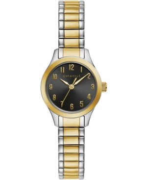 Women's Two-Tone Stainless Steel Expansion Bracelet Watch 24mm