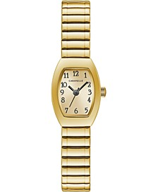 Women's Gold-Tone Expansion Bracelet Watch 18x25mm